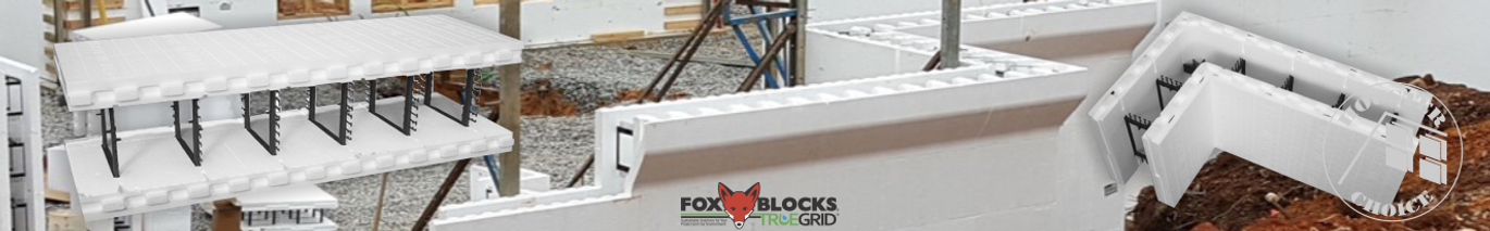 Insulated Concrete Forms Fox Blocks