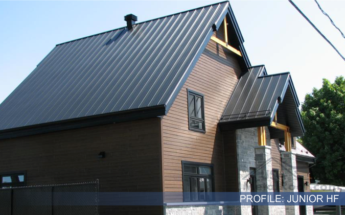 metal tile roofing JUNIOR HF