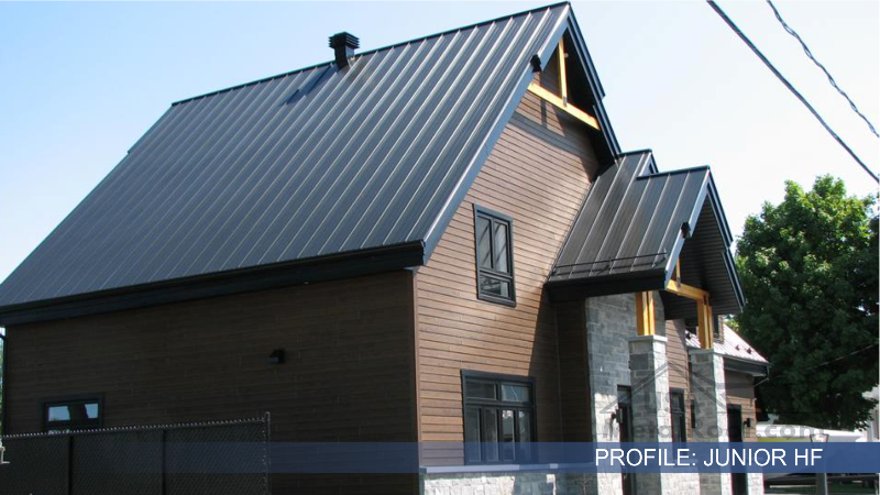 metal tile roofing JUNIOR HF