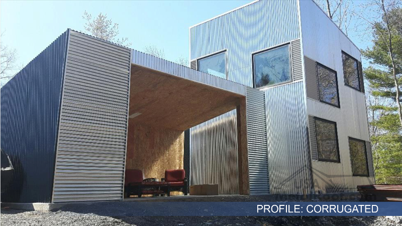 metal siding CORRUGATED 7