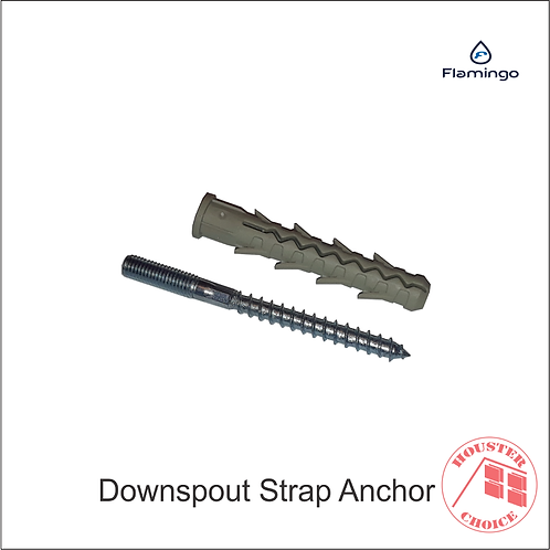 DOWNSPOUT STRAP ANCHOR 3.9""