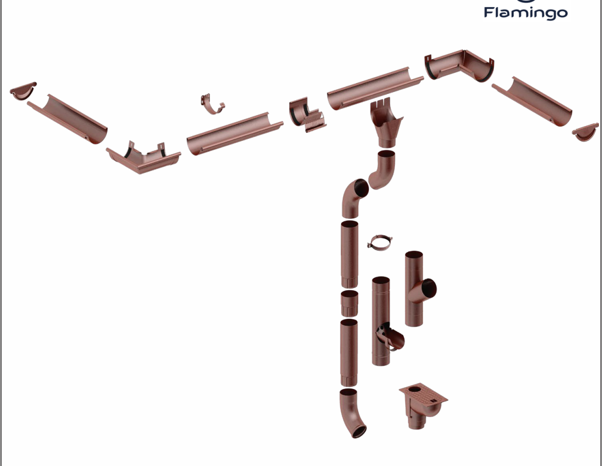 Gutters System Flamingo