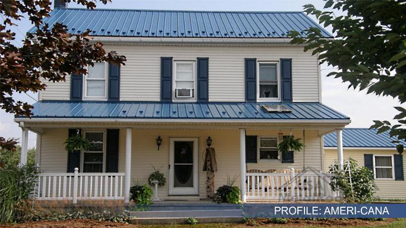 metal tile roofing AMERICANA