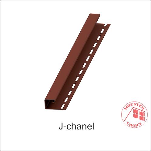 """PVC """"J"""" CHANNEL (Color Wood Pattern))"""