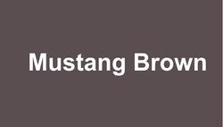 MUSTANG BROWN