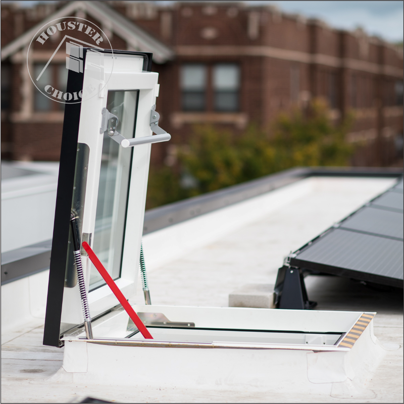 DRF FLAT ROOF DECK MOUNTED ROOF ACCESS
