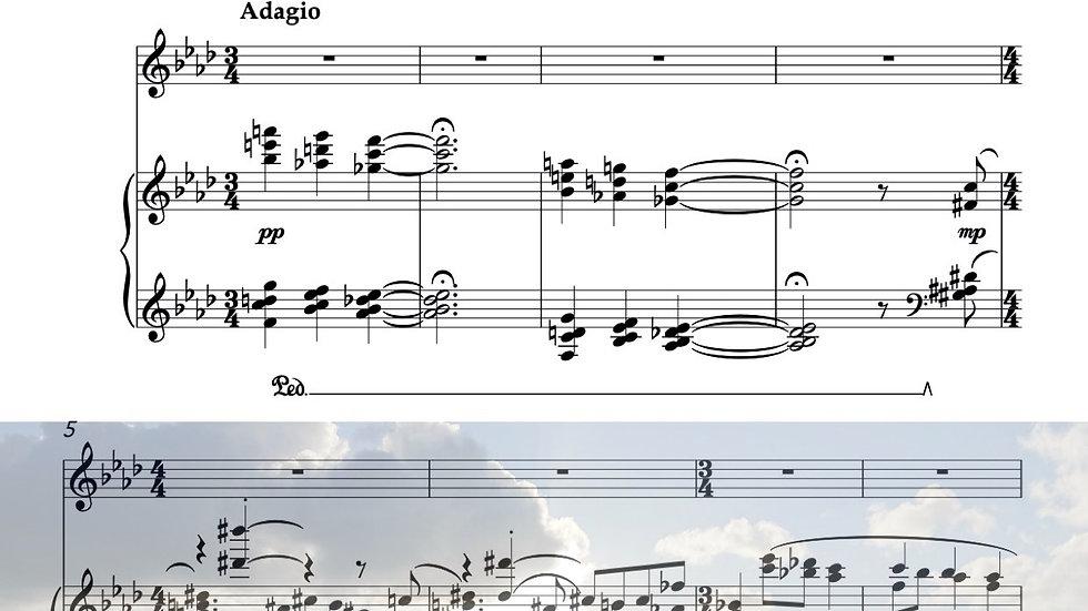 海 ピアノとデュオver