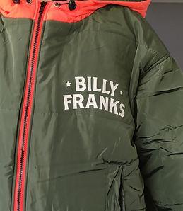 Customised Sittingsuit made for Billy Franks