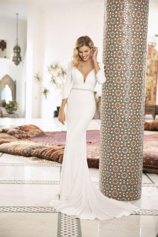 Honor designed by Beloved for Casablanca Bridal