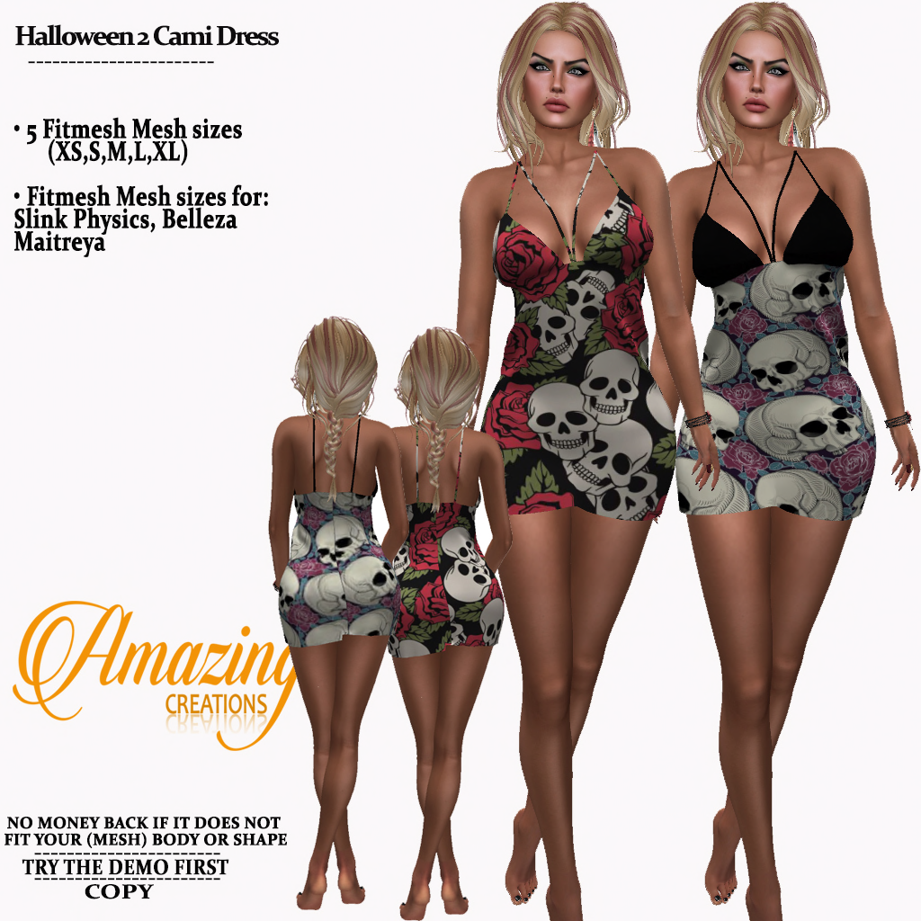 AmAzINg CrEaTiOnS Halloween 2 Cami Dress