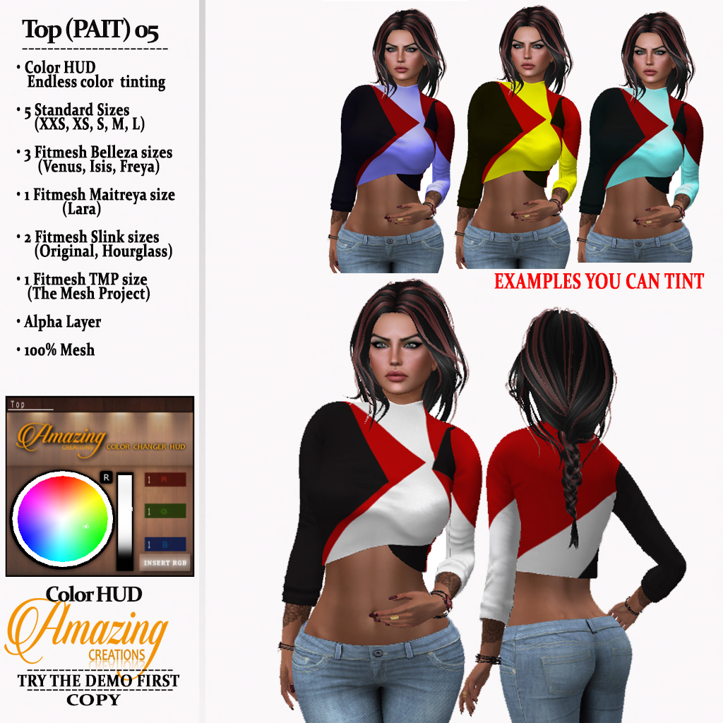 AmAzINg CrEaTiOnS Top (PAIT) 05_pic