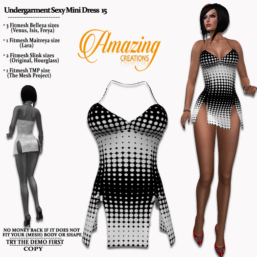 AmAzInG CrEaTiOnS Undergarment Sexy Mini