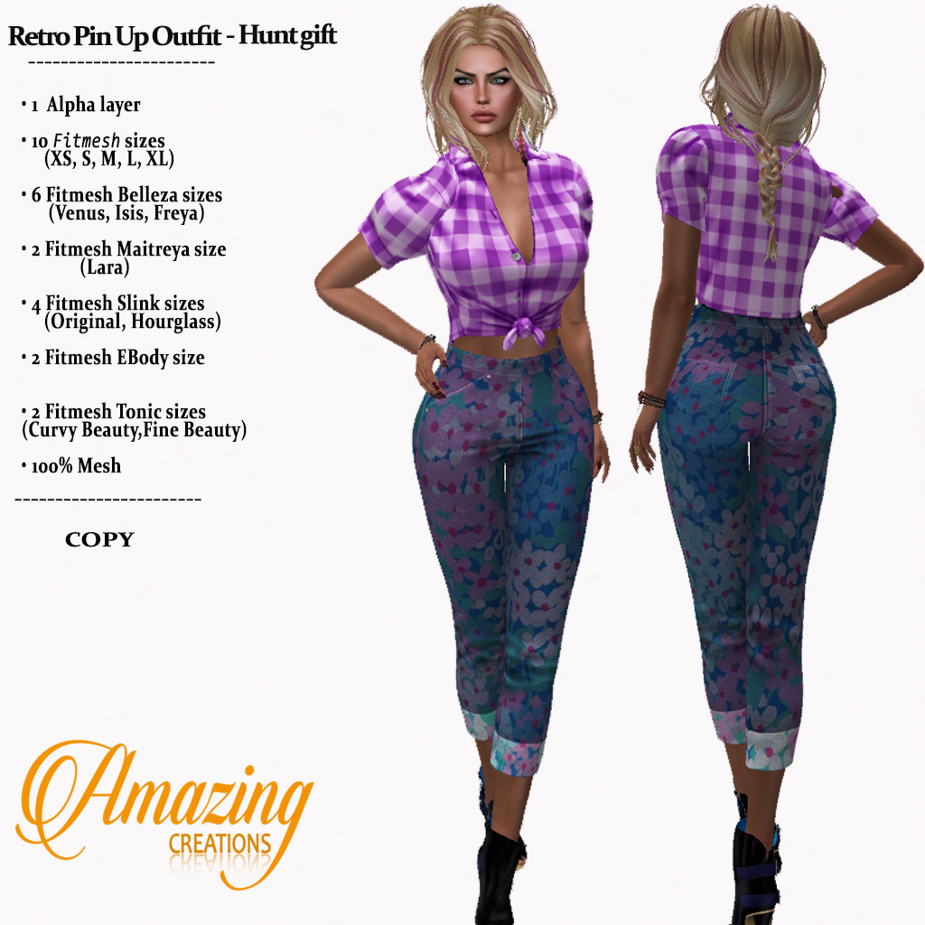 AmAzINg CrEaTiOnS Female Hunt Gift-Retro
