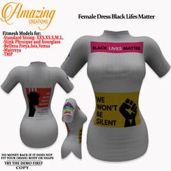 AmAzInG CrEaTiOnS Female Dress Black Lif