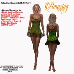 AmAzInG CrEaTiOnS Salsa Dress lingerie (