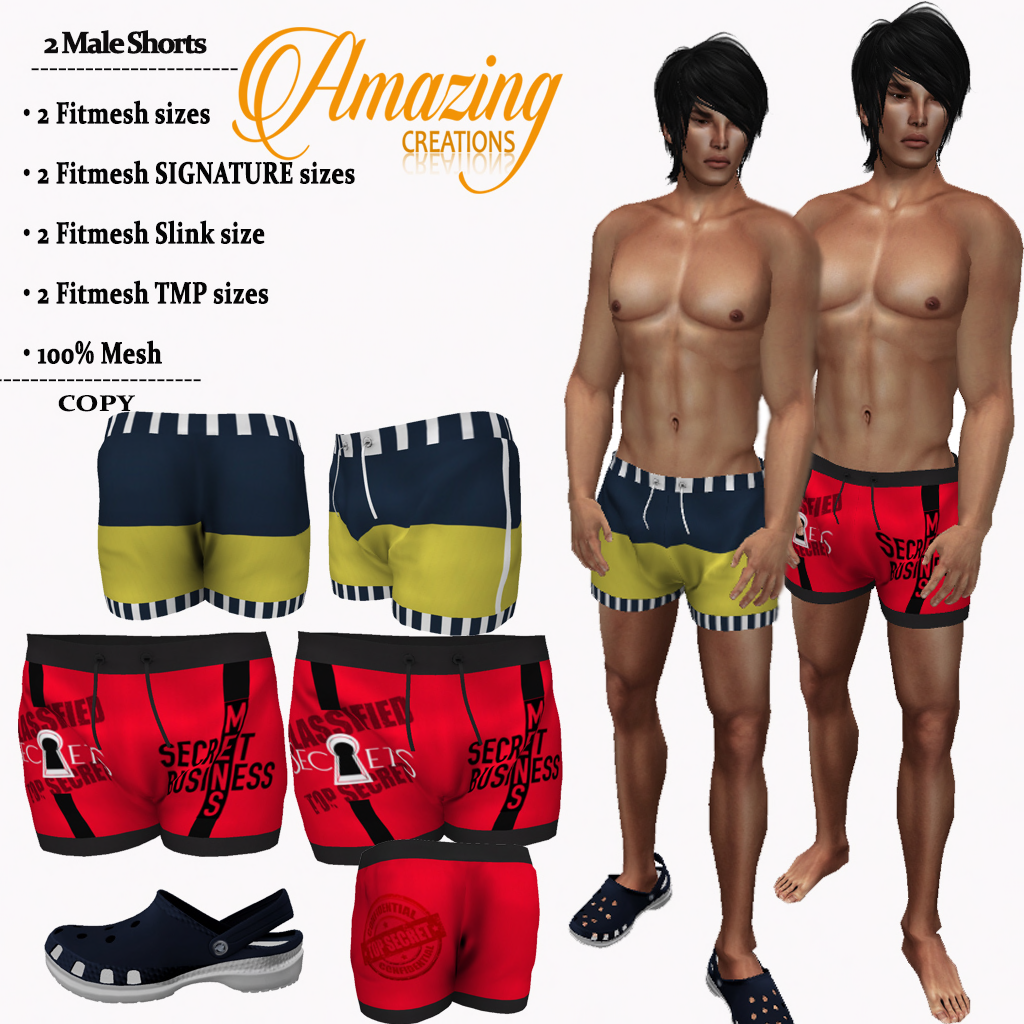 AmAzINg CrEaTiOnS Male Hunt Gift-2 Short