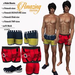 AmAzINg CrEaTiOnS Male Hunt Gift-2 Short