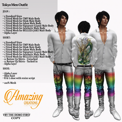AmAzINg CrEaTiOnS Tokyo Men Outfit_pic