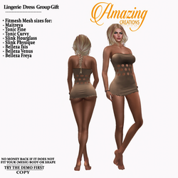 AmAzINg CrEaTiOnS Lingerie  Dress Group