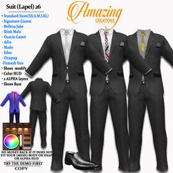 AmAzINg CrEaTiOnS Suit (Lapel) 26