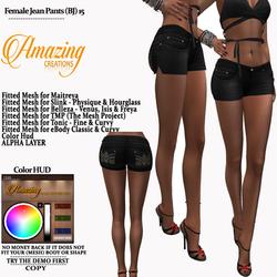 AmAzINg CrEaTiOnS Female Jean Pants (BJ)