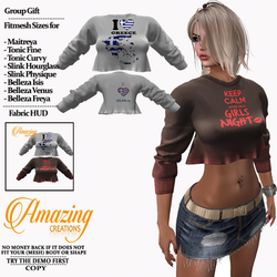AmAzInG CrEaTiOnS Top (Ry) Group gift 2.