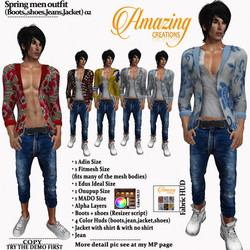 AmAzINg CrEaTiOnS Spring men outfit 02