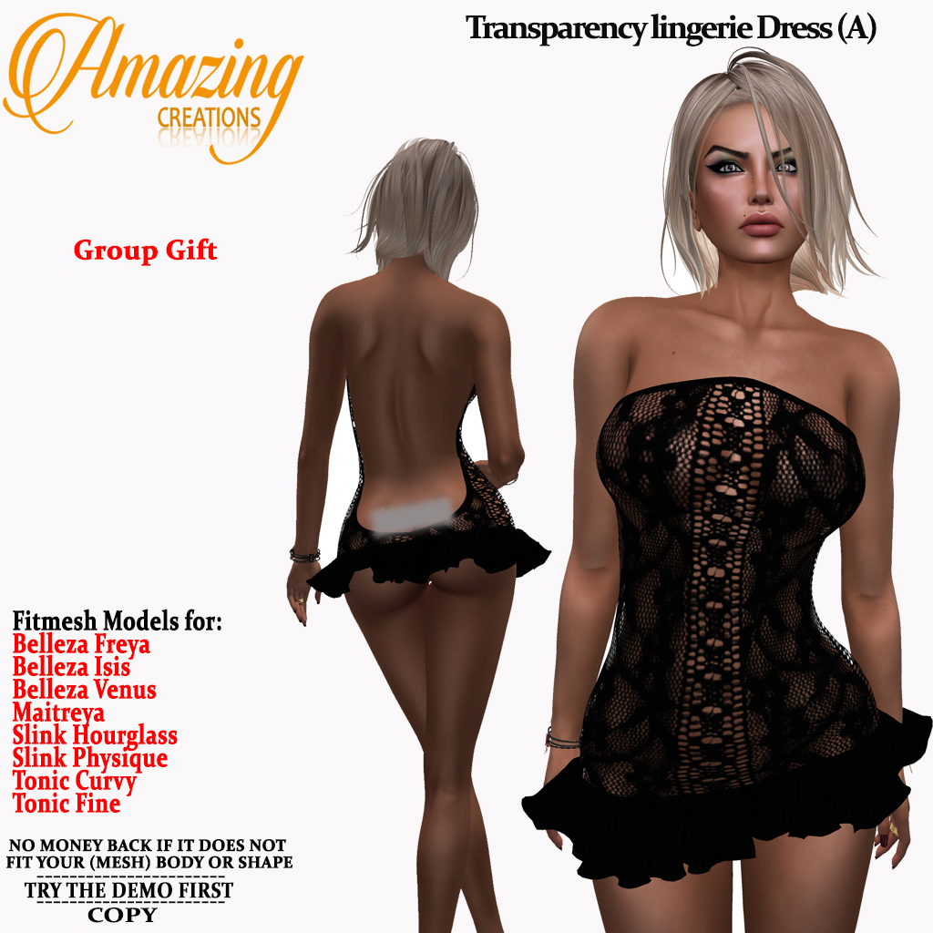 AmAzInG CrEaTiOnS Transparency Lace ling