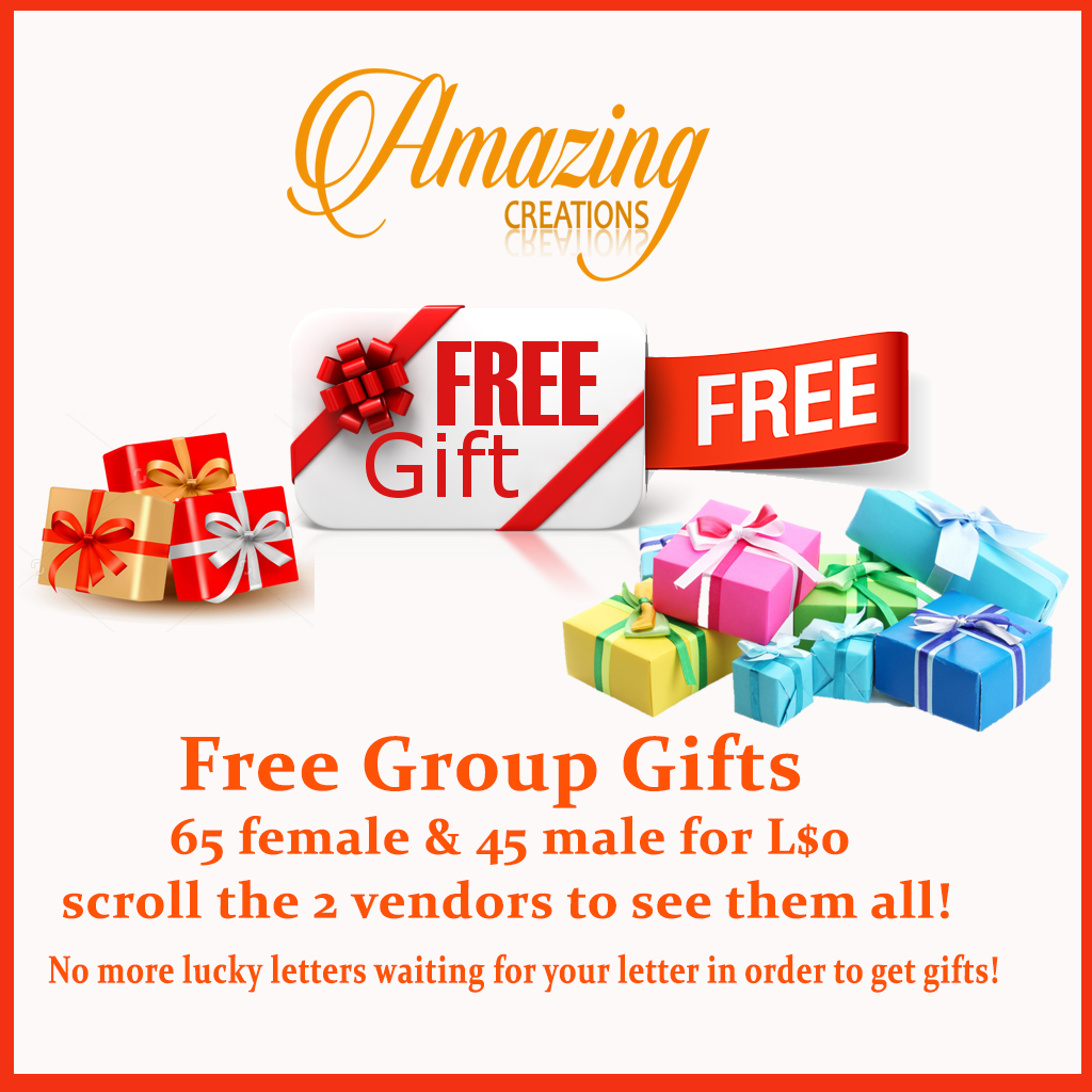 Free group gifts
