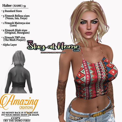 AmAzInG CrEaTiOnS Halter ( KAMI ) 53