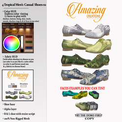 AmAzINg CrEaTiOnS 4 Tropical Mens Casual