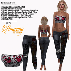 AmAzINg CrEaTiOnS Rock Hunt Female gift.