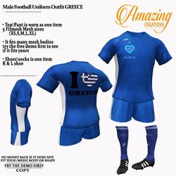 AmAzINg CrEaTiOnS Male Football Uniform