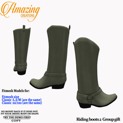 AmAzInG CrEaTiOnS Riding boots 2 Group G