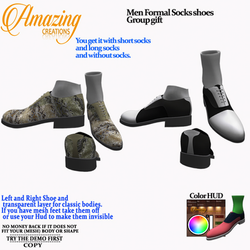 AmAzInG CrEaTiOnS Men Formal Socks shoes Group gift