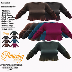AmAzInG CrEaTiOnS Top (Ry) Group gift