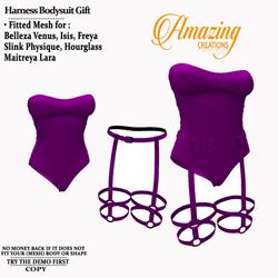 AmAzInG CrEaTiOnS Female Harness Bodysui