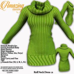 AmAzInG CrEaTiOnS Roll Neck Dress 21