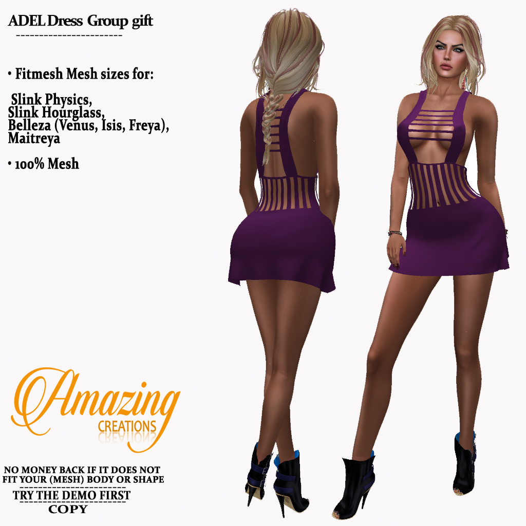 AmAzINg CrEaTiOnS ADEL Dress Group gift_