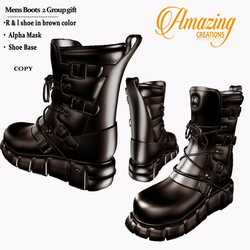 AmAzINg CrEaTiOnS Mens Boots  2 Group gi