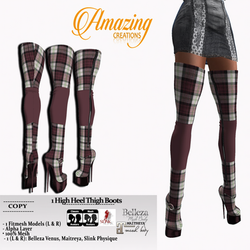 AmAzINg CrEaTiOnS High Heel Thigh Boots