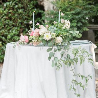 A colorful intimate wedding at Villa Pina