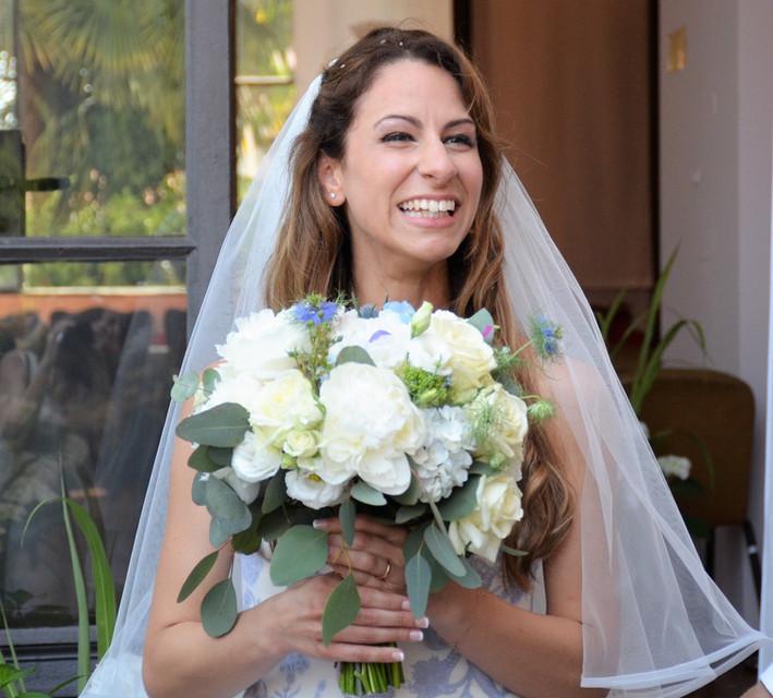 matrimonio bianco e azzurro? perchè no?