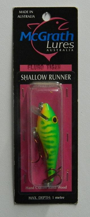 Shallow Runner - Fluro Tiger