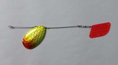 Chartreuse and Orange Trolling Attractor