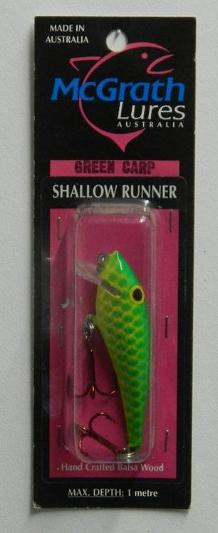 Shallow Runner - Green Carp