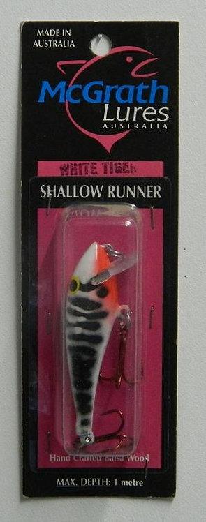 Shallow Runner - White Tiger