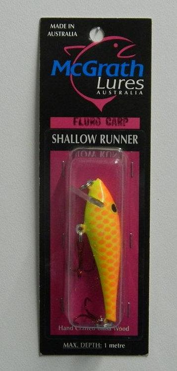 Shallow Runner - Fluro Carp