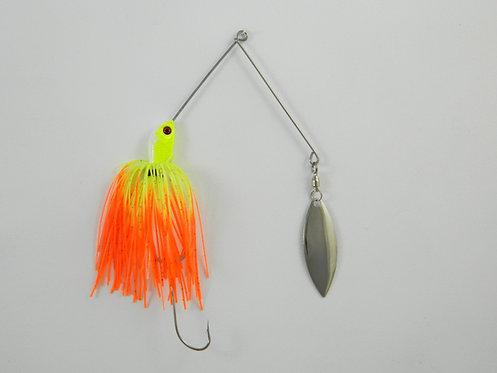1/2 Oz SB - Chartreuse & Orange Tips - Single Willow