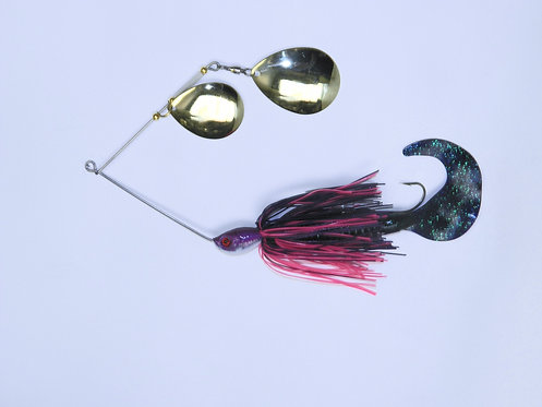 Spinnerbait - Purple Neon & Hot Pink